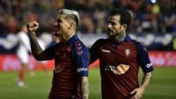 El tanque del Osasuna, letal de cara al arco rival (4 goles en los últimos 4 partidos). Grandes equipos van a pelearse en enero por tenerlo.