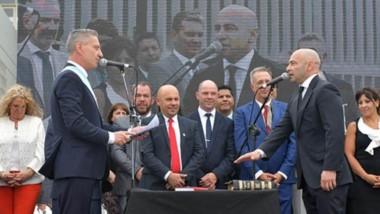 Regreso. Federico Massoni juró como ministro de Seguridad y ya planteó el objetivo de agilizar los recursos contra el narcotráfico en Chubut.