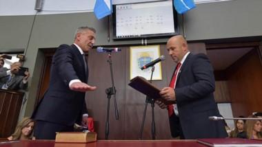Historia. El escribano Arcioni inicia su segundo mandato en una Legislatura poblada y con un discurso con varios ejes de gestión hasta 2023.