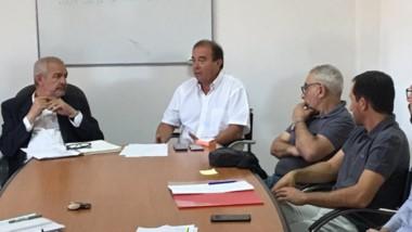 Encuentro. Los referentes del sector discutieron ideas con Provincia.