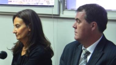 Lorena Carrizo y Marcos Sánchez quedaron imputados tras la audiencia de ayer.