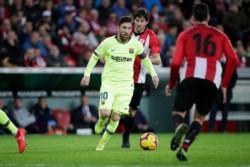 Con Lionel Messi, el Barcelona no pudo contra el Athletic Bilbao e igualó 0 a 0.
