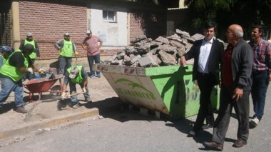 En el marco de un convenio entre el Gobierno Provincial y UOCRA trabajan para mantener edificios públicos.