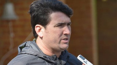 """""""De mí no esperen una traición"""", dijo Omar Burgoa."""