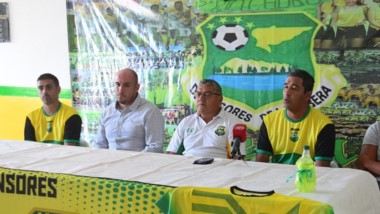 Las pruebas de River fueron anunciadas por La Ribera  el miércoles 6 en las instalaciones del club.