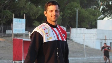 Caamaño, entrenador y coordinador del proyecto formativo del club.