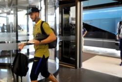 El plantel de Boca se quedó varado en Córdoba por el temporal.