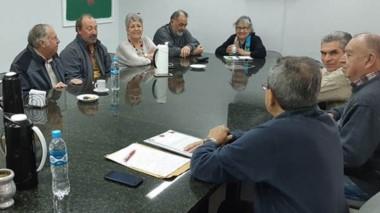 En la reunión se fijó  trabajar en Salud, transporte, Servicoop y la ayuda a la meseta es la columna vertebral.