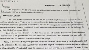 Se suspenderán las ejecucuiones de sentencias contra el Estado.