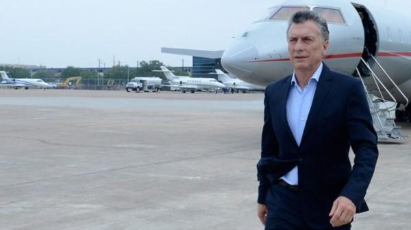 Junto a empresarios, Macri inicia una gira por Asia