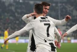 Con gritos de Dybala, Bonucci y Cristiano Ronaldo, la Vecchia Signora aplastó 3-0 al Frosinone en Turín.
