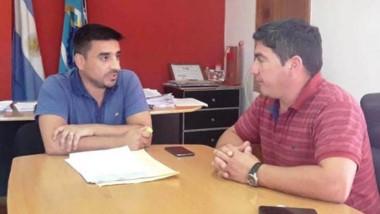 Amhed se reunió con  intendentes cordilleranos.