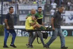Gastón Togni sufrió la rotura del ligamento cruzado anterior de su rodilla izquierda. Sensible baja para el equipo de Beccacece en su pelea por el título.