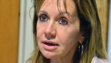 La fiscal jefe de Trelew, doctora Silvia Lucía Pereira, leyó los cargos.