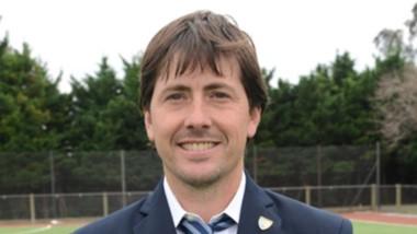 Martín Berthold es el asistente del seleccionado femenino sub 21 y cuenta con un amplio currículum.