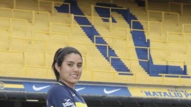 """Barrera puede ser la primera  chubutense en jugar en La """"Bombonera"""""""
