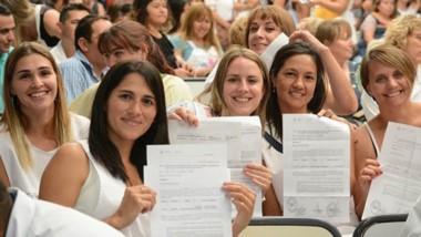 Docente titulares. Por primera vez, el concurso de ingreso se realiza mediante asambleas en Chubut.