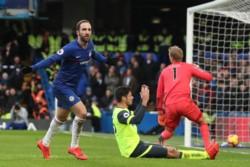 El Chelsea pasó de un 0-4 a un 5-0. Higuaín y Hazard, la fórmula goleadora.
