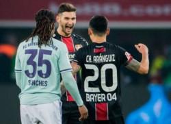 Lucas Alario selló la victoria del Bayer Leverkusen ante el Bayern Munich a minutos de haber ingresado a la cancha.
