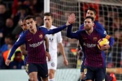 Valencia hizo cosas como para ganarlo, pero Barcelona lo tiene a Messi.
