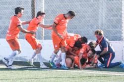 J.J. Moreno venció por 1-0 a USMA el pasado sábado en Comodoro Rivadavia, con gol de Rodrigo Linares.