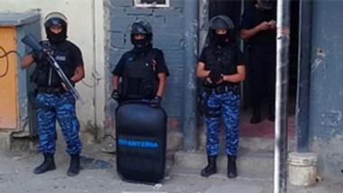 El operativo policial se originó a partir de la agresión a balazos de un sujeto que poseía antecedentes.