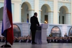 Putin se dirige a la Nación rusa desde un centro de convenciones, claro mensaje de advertencia del oso...