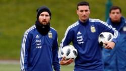 """Tapia: """"Messi sigue con las ganas intactas de defender la camiseta de la Selección""""."""