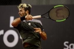 Juan Ignacio Londero quedó eliminado por el uruguayo Pablo Cuevas.