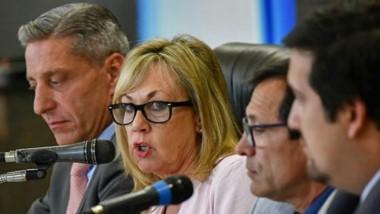 En su discurso, la intendenta tuvo duras críticas hacia las políticas nacionales del presidente Macri.
