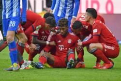 Con anotación de Javi Martínez al 62', Bayern derrotó por la mínima diferencia al Hertha.