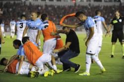 Un desahogo tremendo: así vivió Racing el 3-1 ante Independiente para ganarle en el Libertadores de América y mantenerse firme en lo más alto de la tabla.