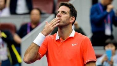 Del Potro le ganó a la gripe y superó a Richard Gasquet en el debut del Masters 1000 de Shanghai.