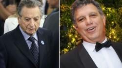 Papá Franco y el hermnao presidencial Gianfranco, quien blanqueó más de 600 millones de pesos.