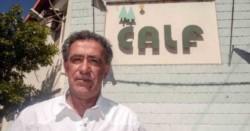 Ciapponi, de la CALF, estuvo con el reciclado Gustavo Lopetegui. (foto gentileza El Neuquino).