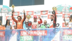 Pipkin, el ganador Pezzini, y el comodorense