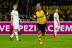 De la mano de Mario Gotze, Sancho y Zagadou le dieron el triunfo 3-2 al Borussia Dortmund sobre Bayer Leverkusen.