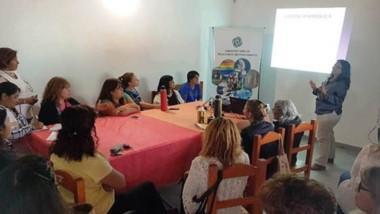 En Telsen se realizó una charla sobre Violencia de Género y Rol  de la Mujer. Organizó el  Gobierno.