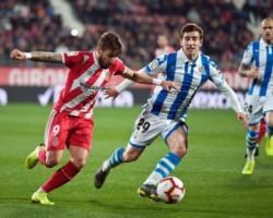 Girona y Real Sociedad no se sacaron ventaja e igualaron 0-0.