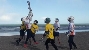 Diez equipos valletanos compitieron el fin de semana en la costa.