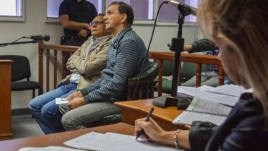 Testimonio. Quilaleo (izquierda) y Rossi pidieron dar su versión ante el juez, ante la presencia de la fiscal.