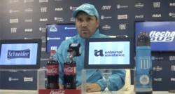 Eduardo Coudet habló en conferencia de prensa y confirmó la formación para recibir a Corinthians.