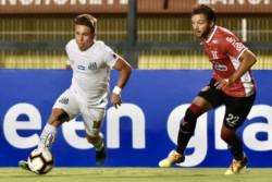 River de Montevideo sacó al Santos de Sampaoli de la Copa Sudamericana.