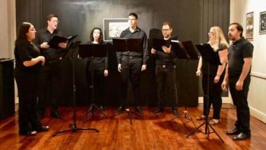 La agrupación Ensamble Vocal se presentó con éxito en el Museo Municipal de Artes Visuales.