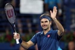 Federer alcanzó la victoria N° 1186 de su carrera, la 900ª al aire libre, la 746ª sobre cemento, la 166ª en torneos ATP 500, la 51ª en Dubai y la 6ª del año.