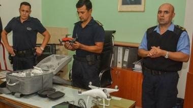 Nuevos. El jefe de Policía y las autoridades jurisdiccionales mantuvieron un encuentro junto con la prensa.