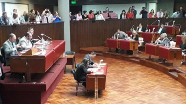 Recinto. Una vez más el oficialismo se quedó sin ningún tipo de representación en la Cámara de Diputados.