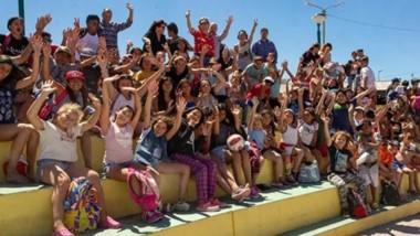 En total, más de 500 niños participaron de las actividades recreativas organizadas desde el municipio de Rawson.