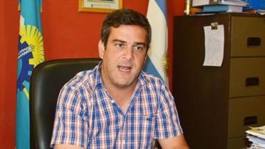 Mariano García Aranibar, intendente de Gaiman. En una entrevista con Jornada habló de política y obras.