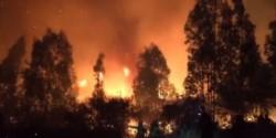 El fuego estaba descontrolado en las últimas horas